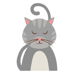 Sleepy cat avatar