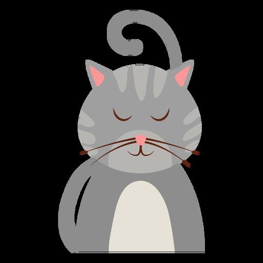 Avatar de gato sonolento Transparent PNG