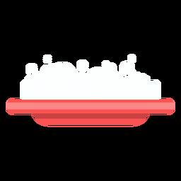 Icono de plato de jabón