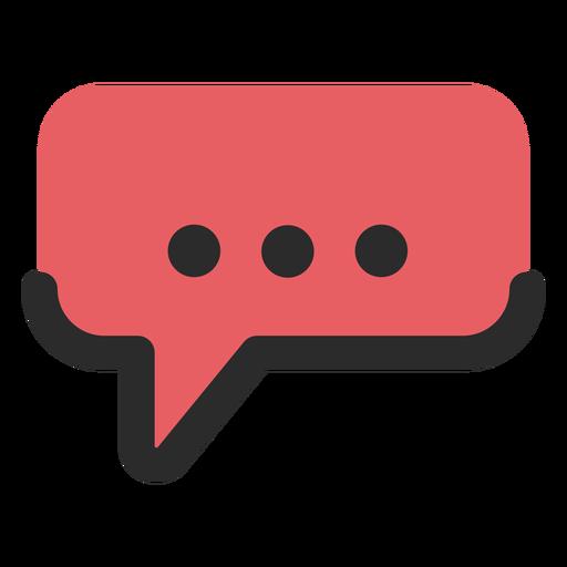 Bocadillo de diálogo icono de contacto Transparent PNG