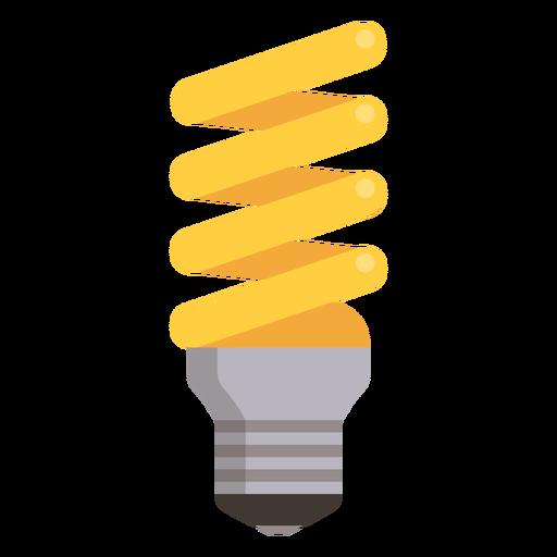 Spiral light bulb Transparent PNG