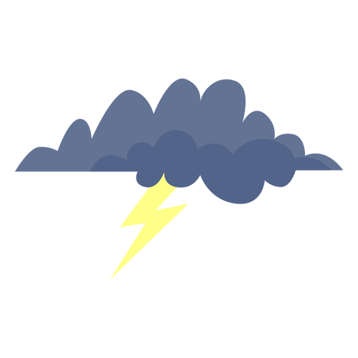 Storm cloud forecast icon Transparent PNG