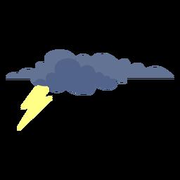 Icono de nube de tormenta