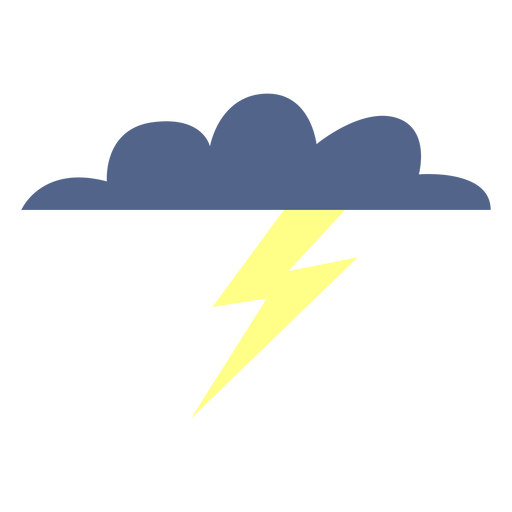 Stormy weather cloud icon Transparent PNG