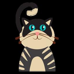 Avatar de gato listrado