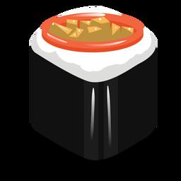 Icono de rollo de sushi