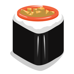 Sushi roll icon
