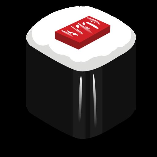 Icono de sushi de atún tekka maki