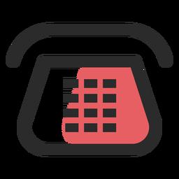 Ícone de contato telefônico