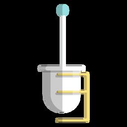 Ícone de suporte de escova de vaso sanitário