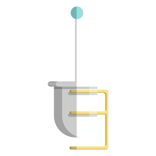 Toilet brush holder icon Transparent PNG