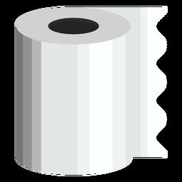 Icono de baño de papel higiénico