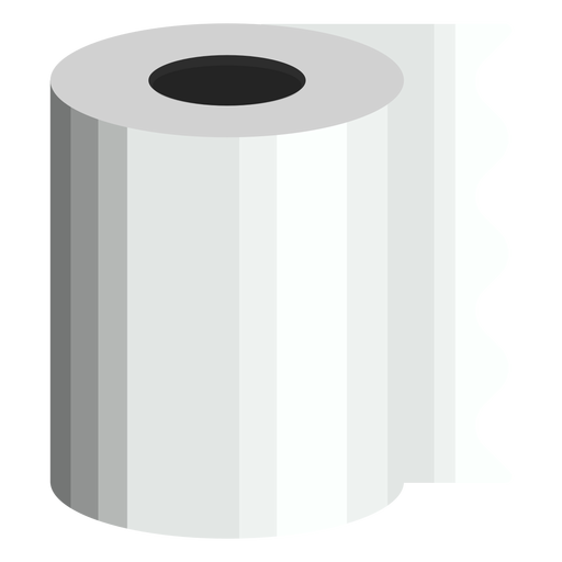 Toilet paper bath icon Transparent PNG
