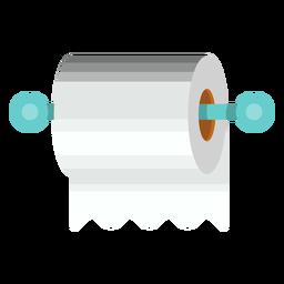 Ícono de soporte de papel higiénico