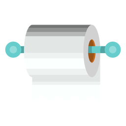 Toilet paper holder icon