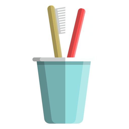 Toothbrush cup icon Transparent PNG