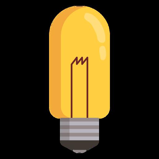 Tubular light bulb Transparent PNG