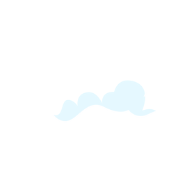 Weather cloud design element