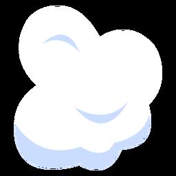 Ilustración de nube de clima