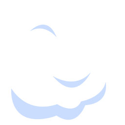 Weather cloud illustration