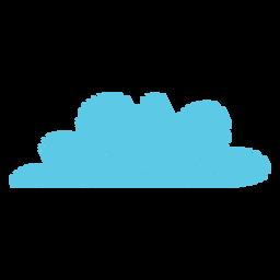 Ícone de rabisco de nuvem de tempo