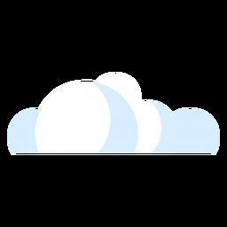Icono de nubes del tiempo