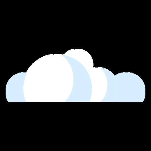 Icono de nubes del tiempo Transparent PNG