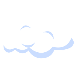 Weather forecast cloud illustration