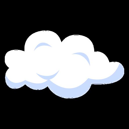 Weather forecast cloud illustration