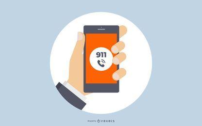 911 Crachá de Aplicação da Lei
