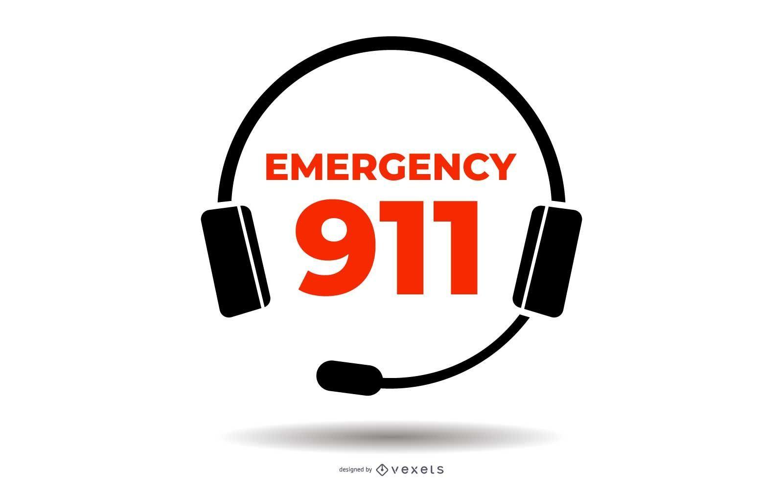 Insignia de emergencia 911