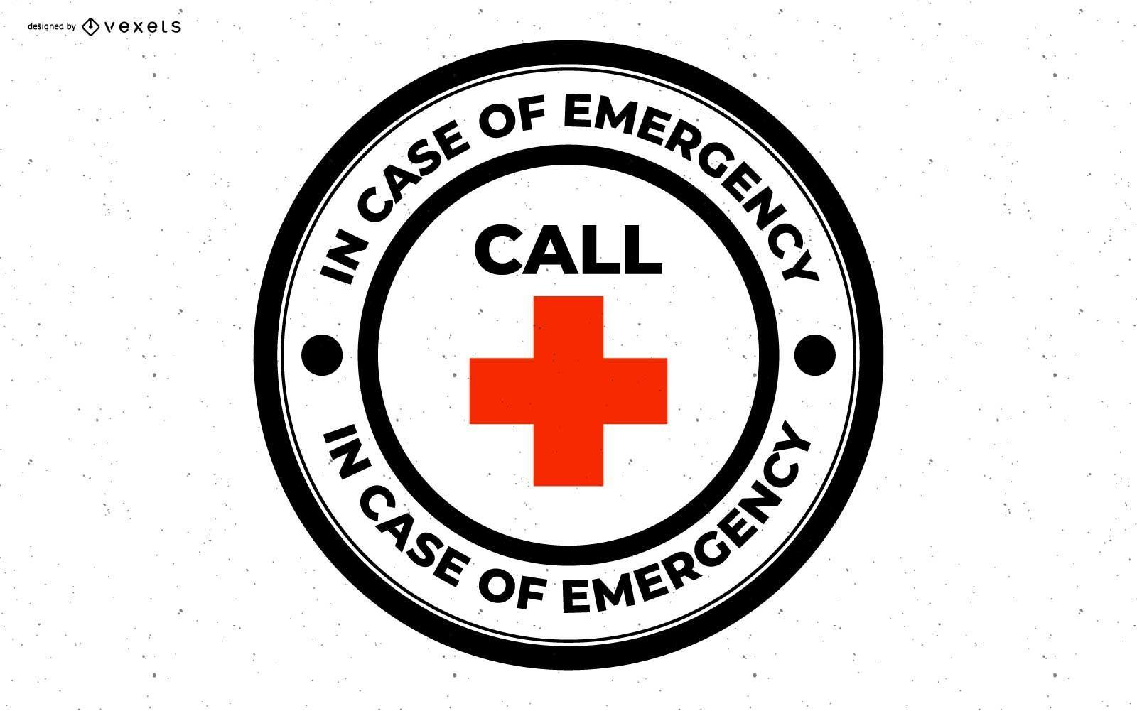 In Case Of Emergency Badge