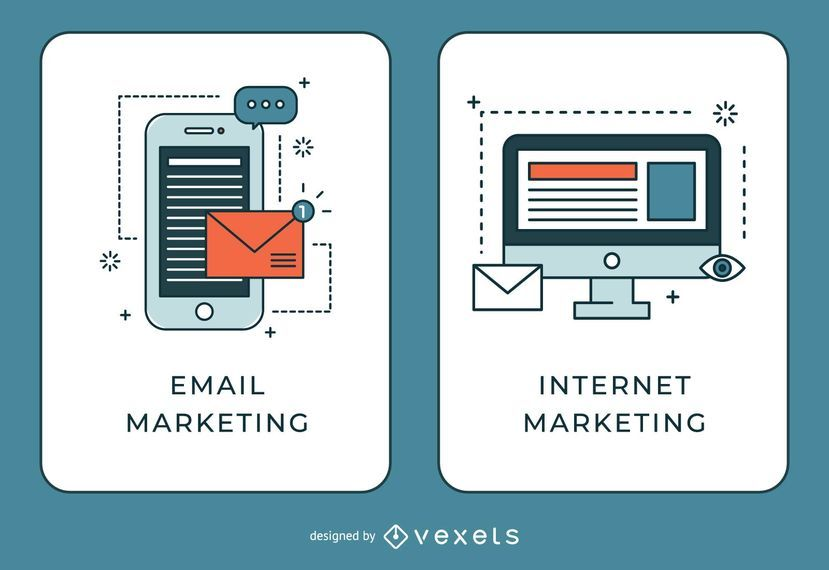 Banners de email y marketing en internet