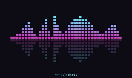 Vector Music Equalizer Theme