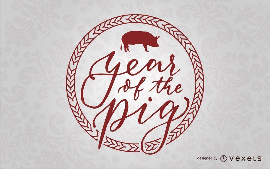 Año de la insignia de cerdo