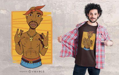 Tupac T-Shirt Design