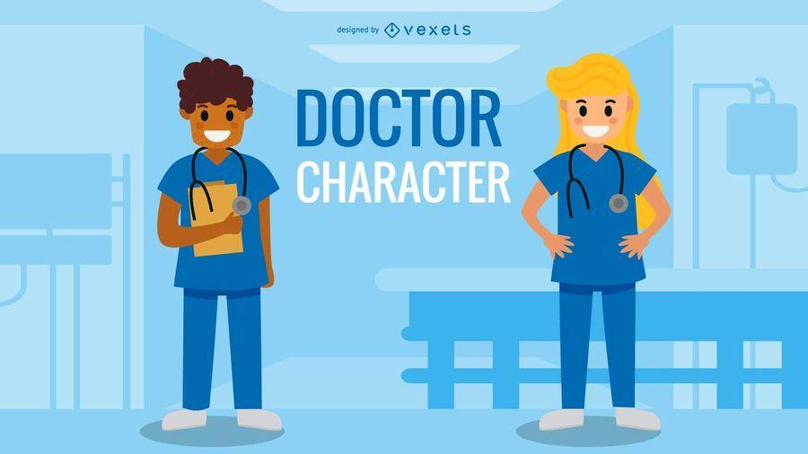 Conjunto de caracteres del doctor