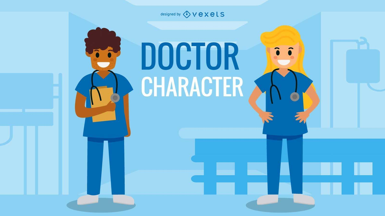 Conjunto de caracteres de doctor