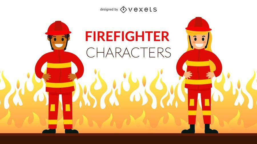 Firefighter Character Set