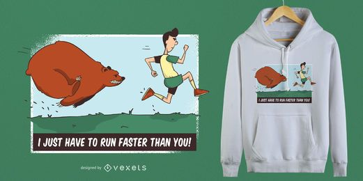 Chasing Bear camiseta de diseño