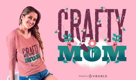 Schlauer Mom T-Shirt Design