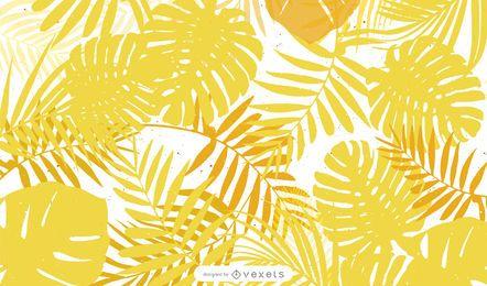 Diseño vectorial amarillo