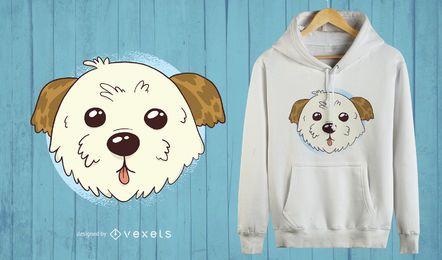 Design bonito do t-shirt do cão de Morkie