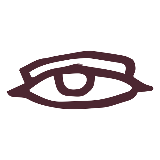 Ancient egypt eye symbol Transparent PNG