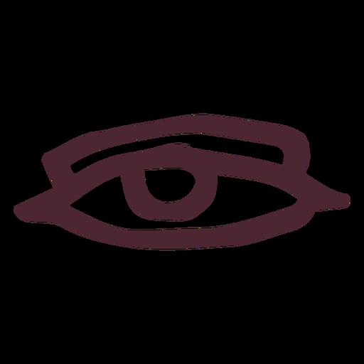 Antiguo símbolo de ojo de egipto Transparent PNG