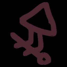 Antiguo símbolo de jeroglíficos de egipto