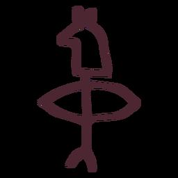 Símbolo tradicional antigo Egito
