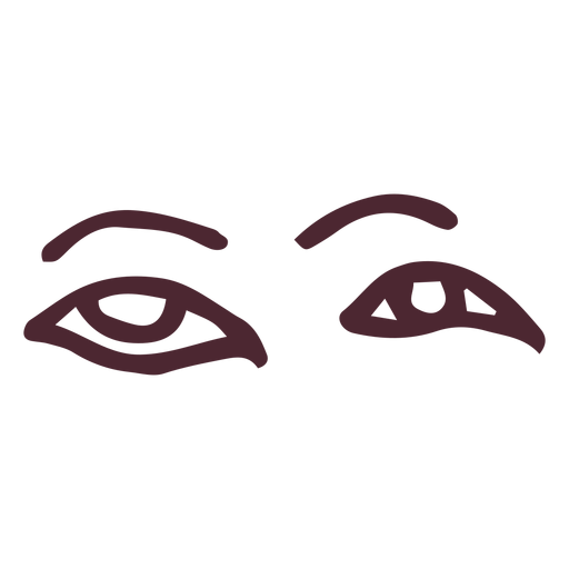 Ancient egyptian eyes hieroglyphics symbol