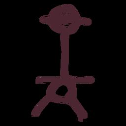 Símbolo de jeroglíficos egipcios antiguos