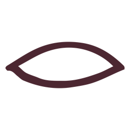 Boca antigua egipcia símbolo jeroglífico